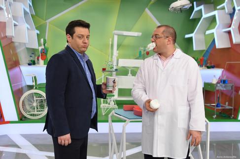 """ТВ бэкстейдж """"О самом Главном"""" (Россия-1)"""