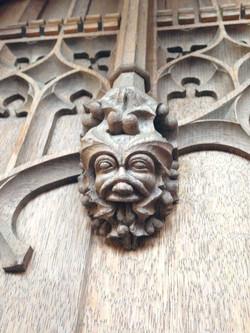 Wood Carving Restoration
