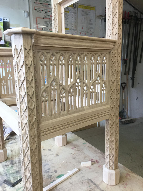 Gothic Chair woodcarving