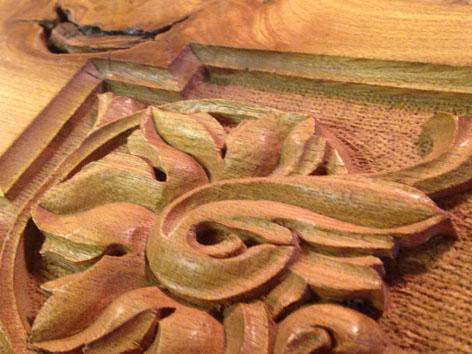 Wood Carving Detail