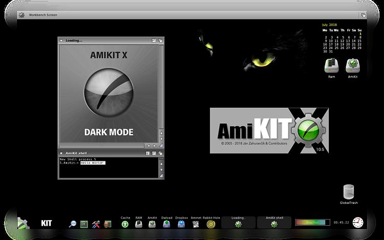 AmiKit X with Dark Mode released! - English Amiga Board