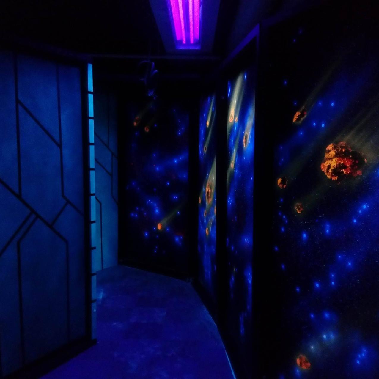 Laser Game / Paula Uhrin