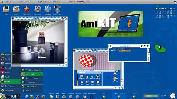 AmiKit: Modern Retro Experience