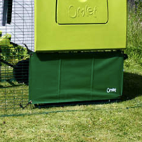 Omlet Cube Wind Cover - Dark Green