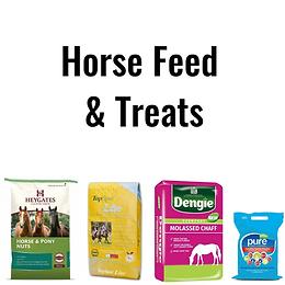 Horse Feed & Treats