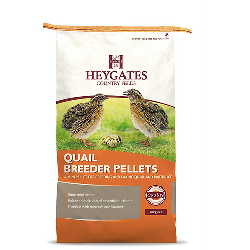 Heygates Quail Breeder Pellets 20kg