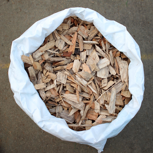 Woodchips for Outdoor Runs 60 Litre Bag - Softwood