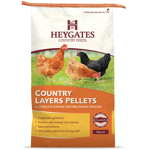 Heygates/Henrys Layers Pellets 20kg