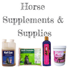 Horse supplements and supplies