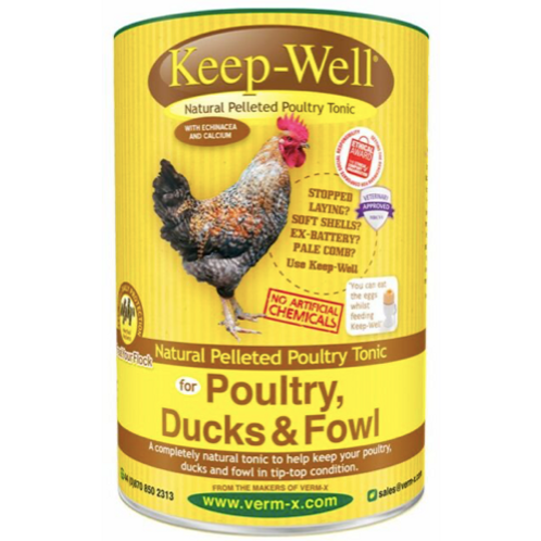 Verm X Keep Well Pelleted Poultry Tonic - 250g