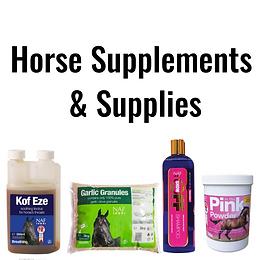 Horse Supplements & Supplies