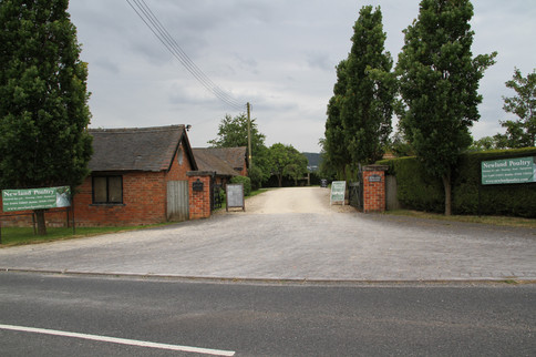 Newland Poultry Entrance