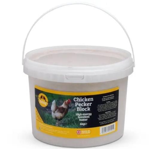 Large Chicken Pecker Block 6kg