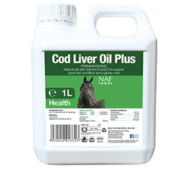NAF Cod Liver Oil Plus 1 Litre