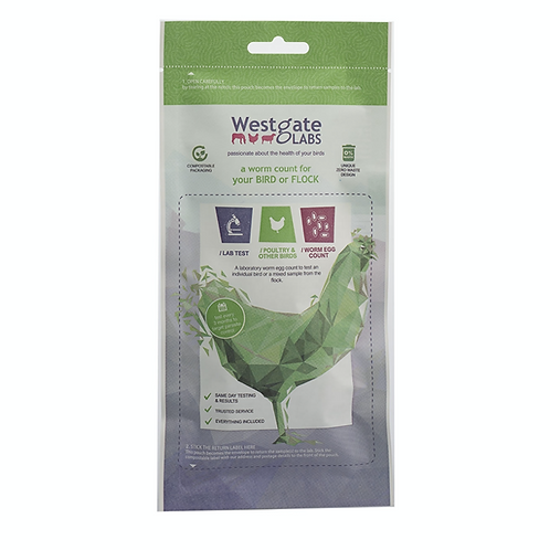Chicken Worm Count Kit - Westgate Labs