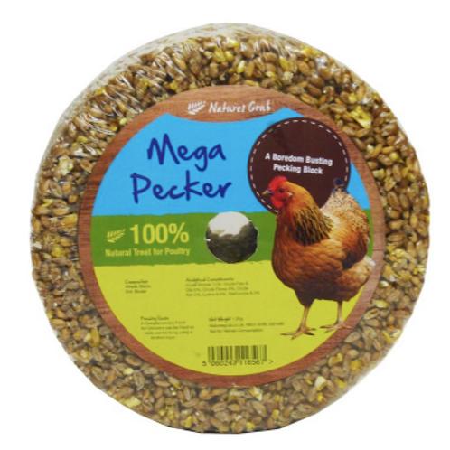 Natures Menu Mega Pecker Garlic, Herb & Seaweed Chicken Treat Block 1.2kg