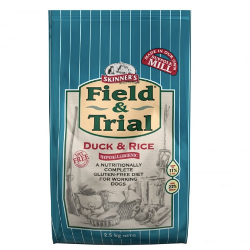 Reduced Skinners Field & Trial Duck & Rice 15kg