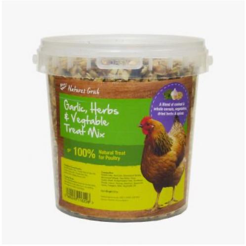 Natures Grub Garlic, Herb & Vegetable Chicken Treat Mix