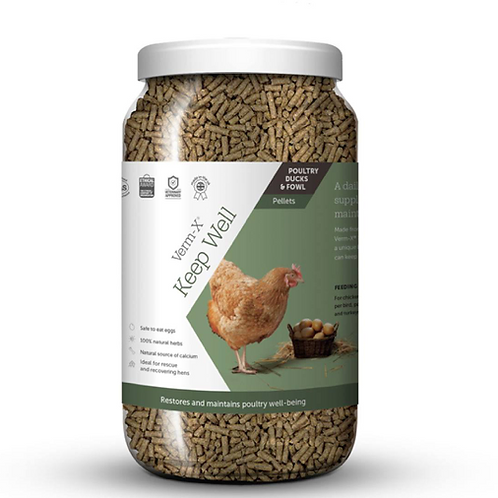 Verm X Keep Well Pelleted Tonic 1.5kg