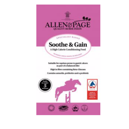 Allen & Page Soothe and Gain
