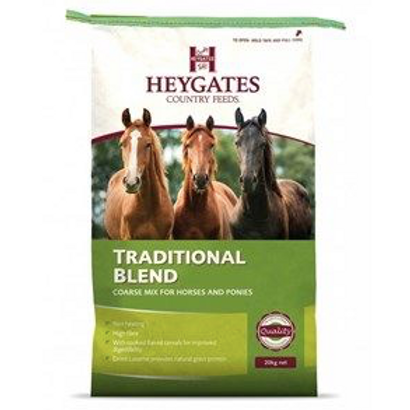 Reduced Heygates Traditional Blend Mix for Horses & Ponies 20kg