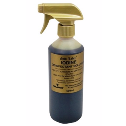 Gold Label Iodine 250ml