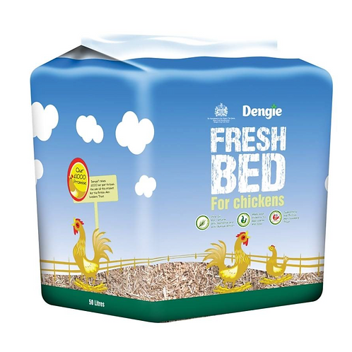 Freshbed for Chickens - 50 Litres
