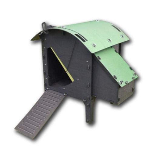 Small Greenfrog Chicken Lodge - Green