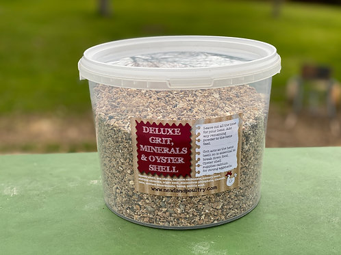 Deluxe Grit, Oyster Shell and Mineral Mix 14kg