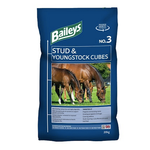 Baileys No.3 Stud & Youngstock Cubes