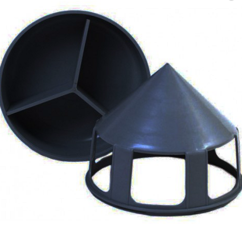 Black Feeder with dividers