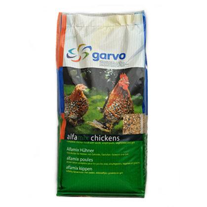 Garvo Alfamix Deluxe Chicken Feed (1055) 12.5kg
