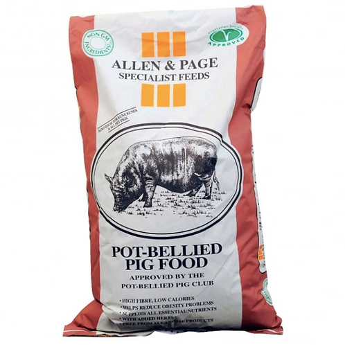 Allen & Page Pot Bellied Pig 20kg
