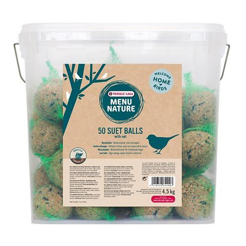 Natures Menue 50 x Suet Balls no nets 4.5kg