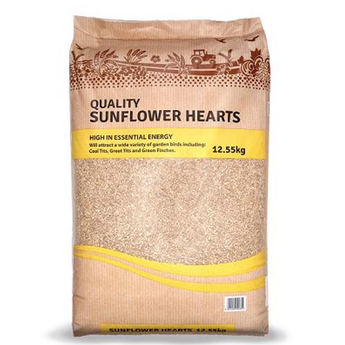 Premium Sunflower Hearts 12.5kg
