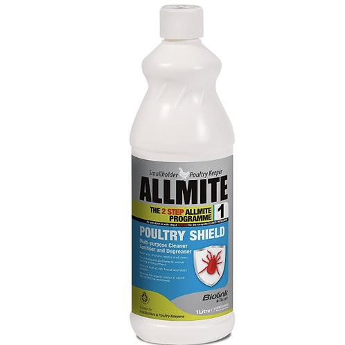 Allmite Poultry Shield 1 Litre Concentrate