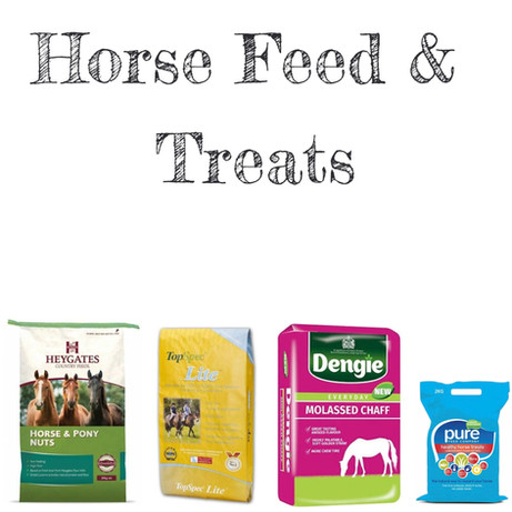 Horse feed and treats
