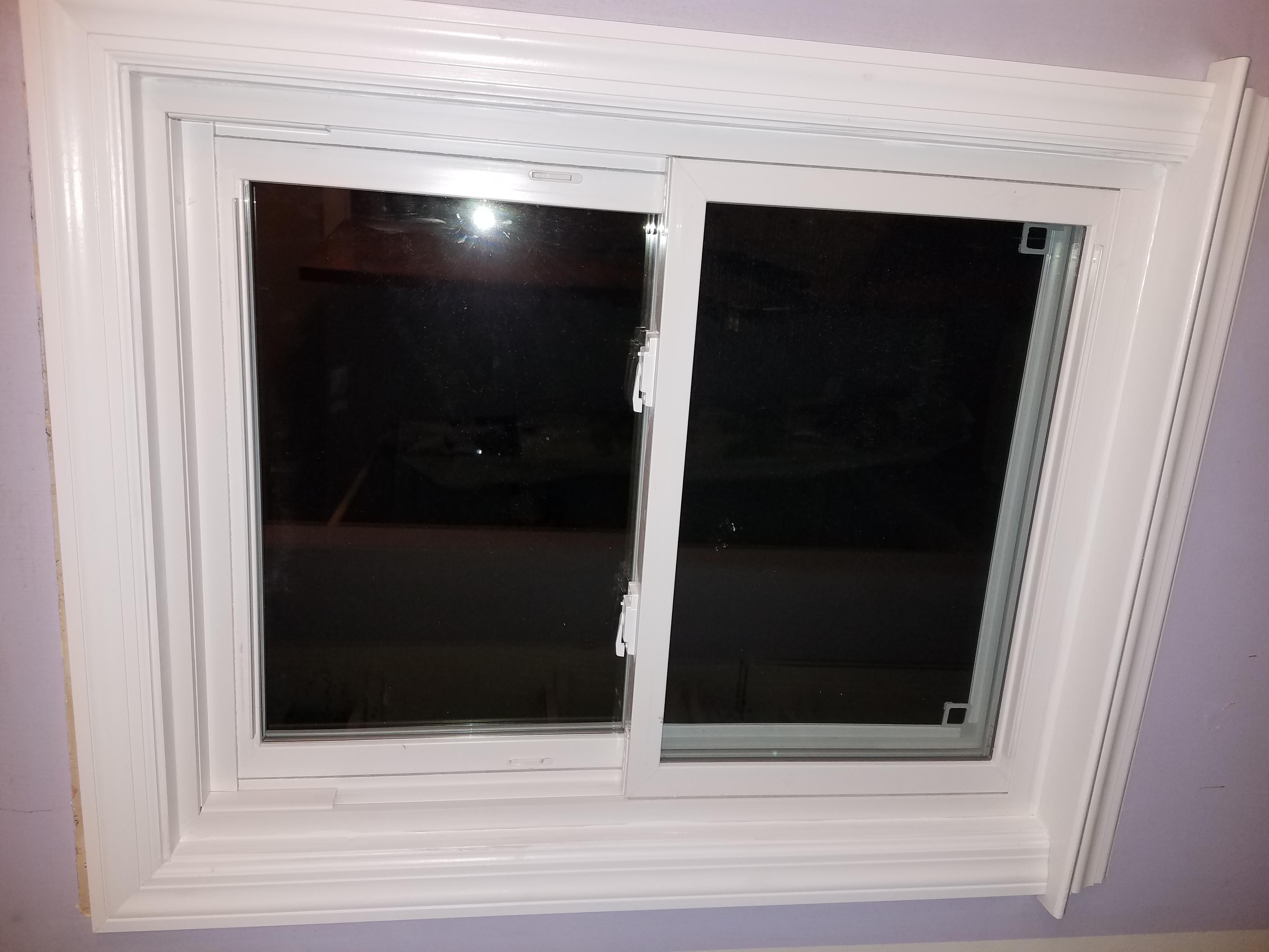 install new vinyl windows