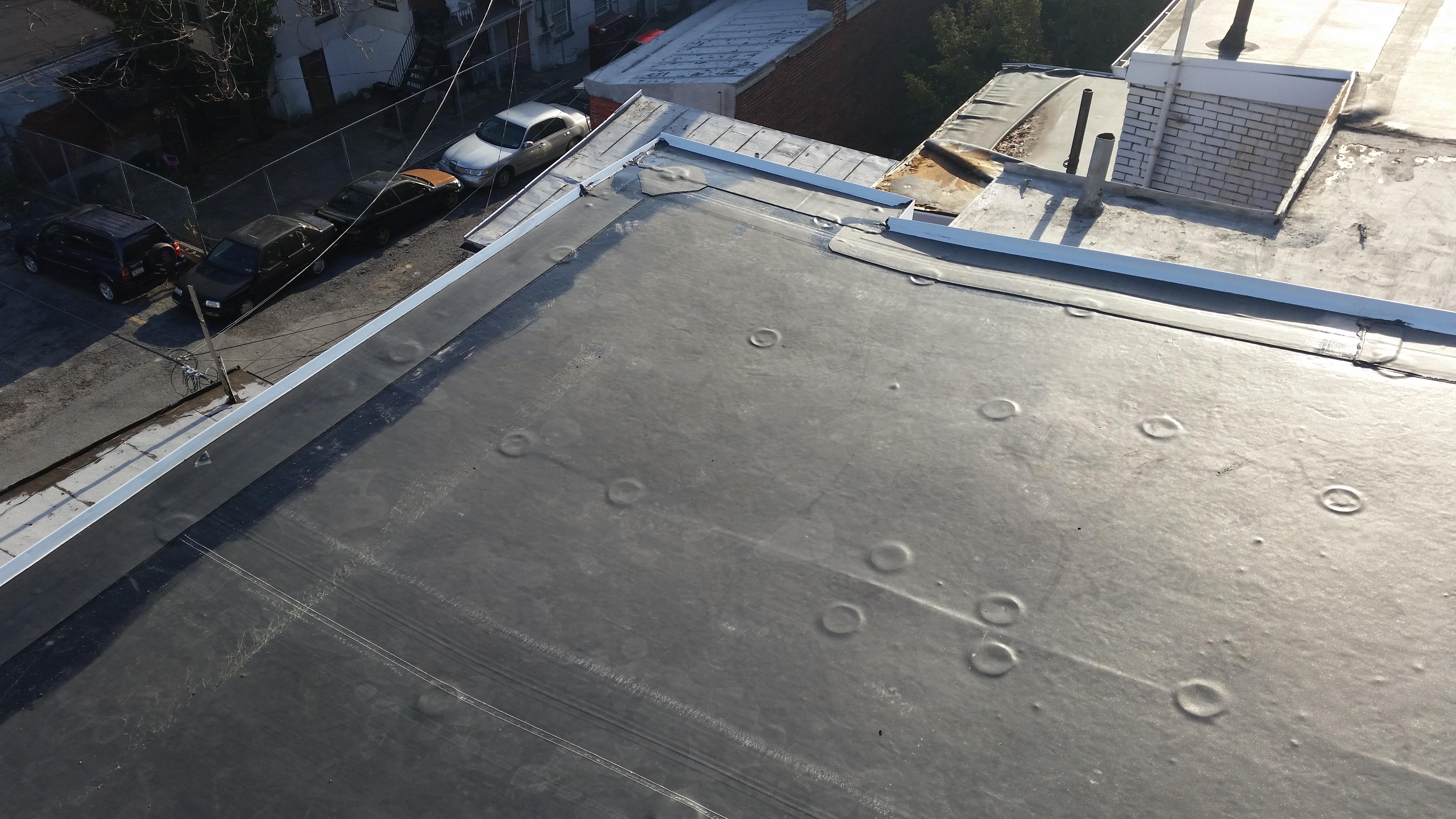 install rubber roof in Philadelphia