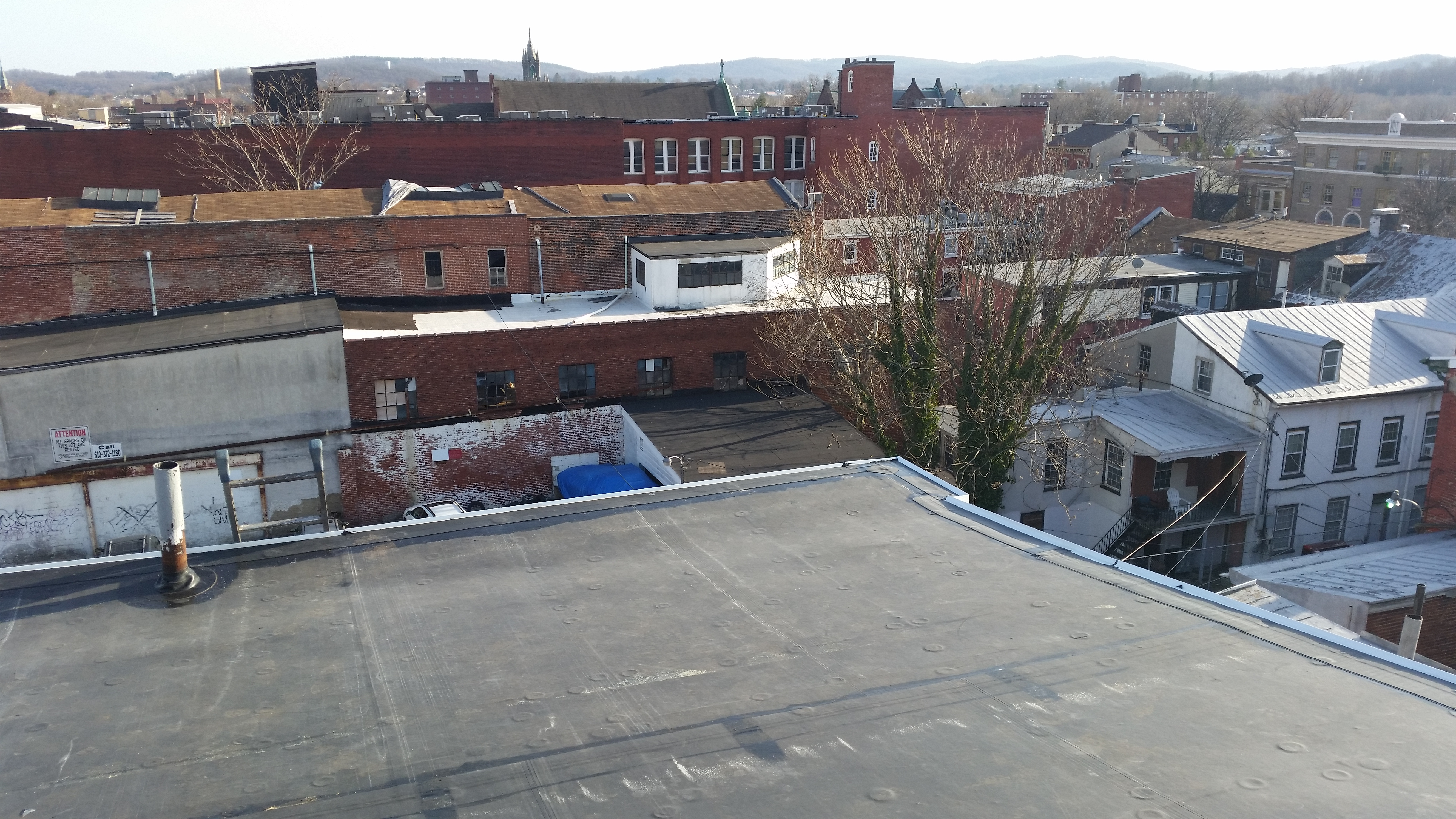 replace EPDM roof in Bensalem, PA