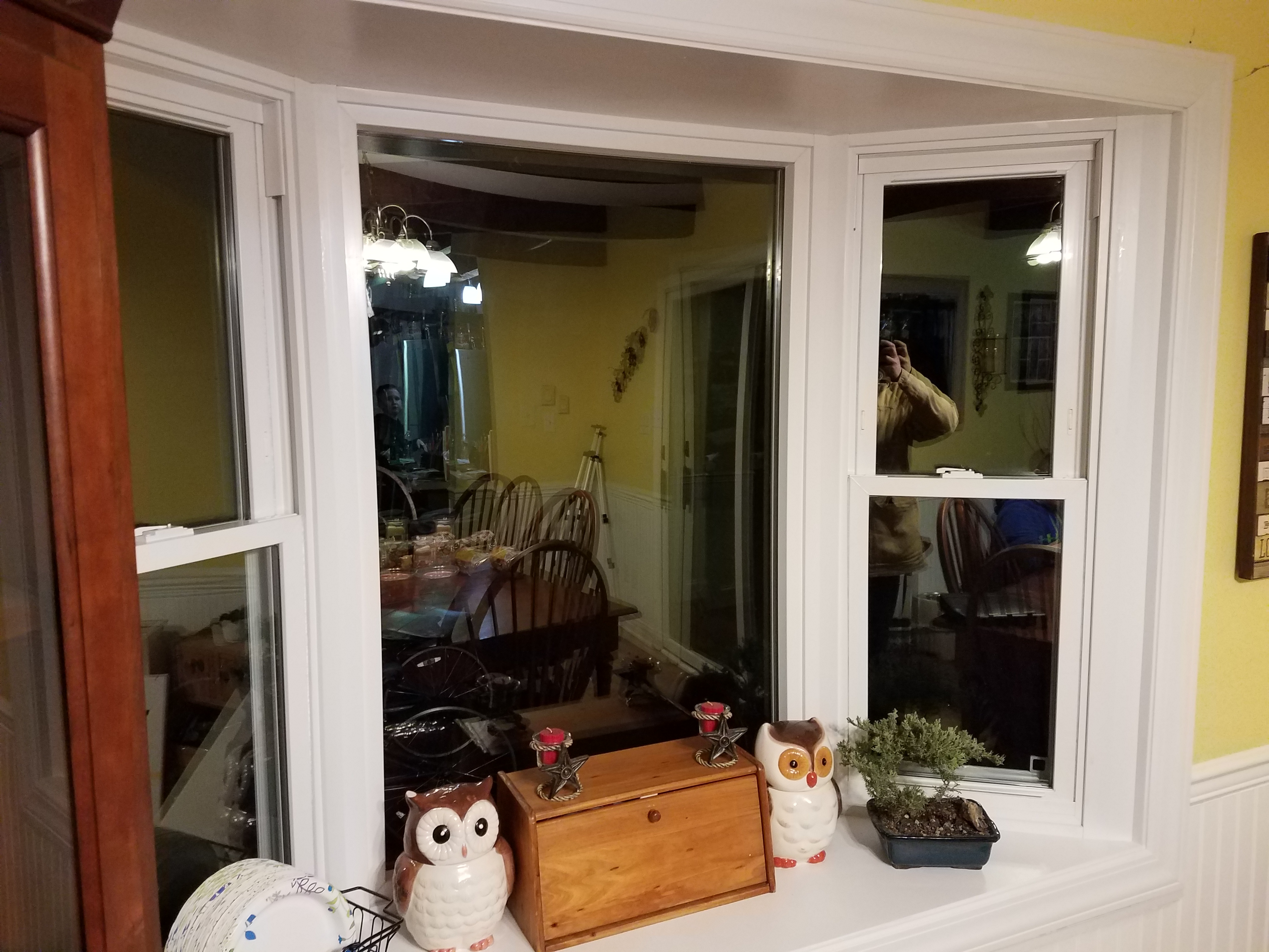replace bay and bow windows