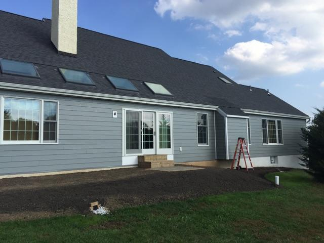 shingle roofing, and vinyl siding