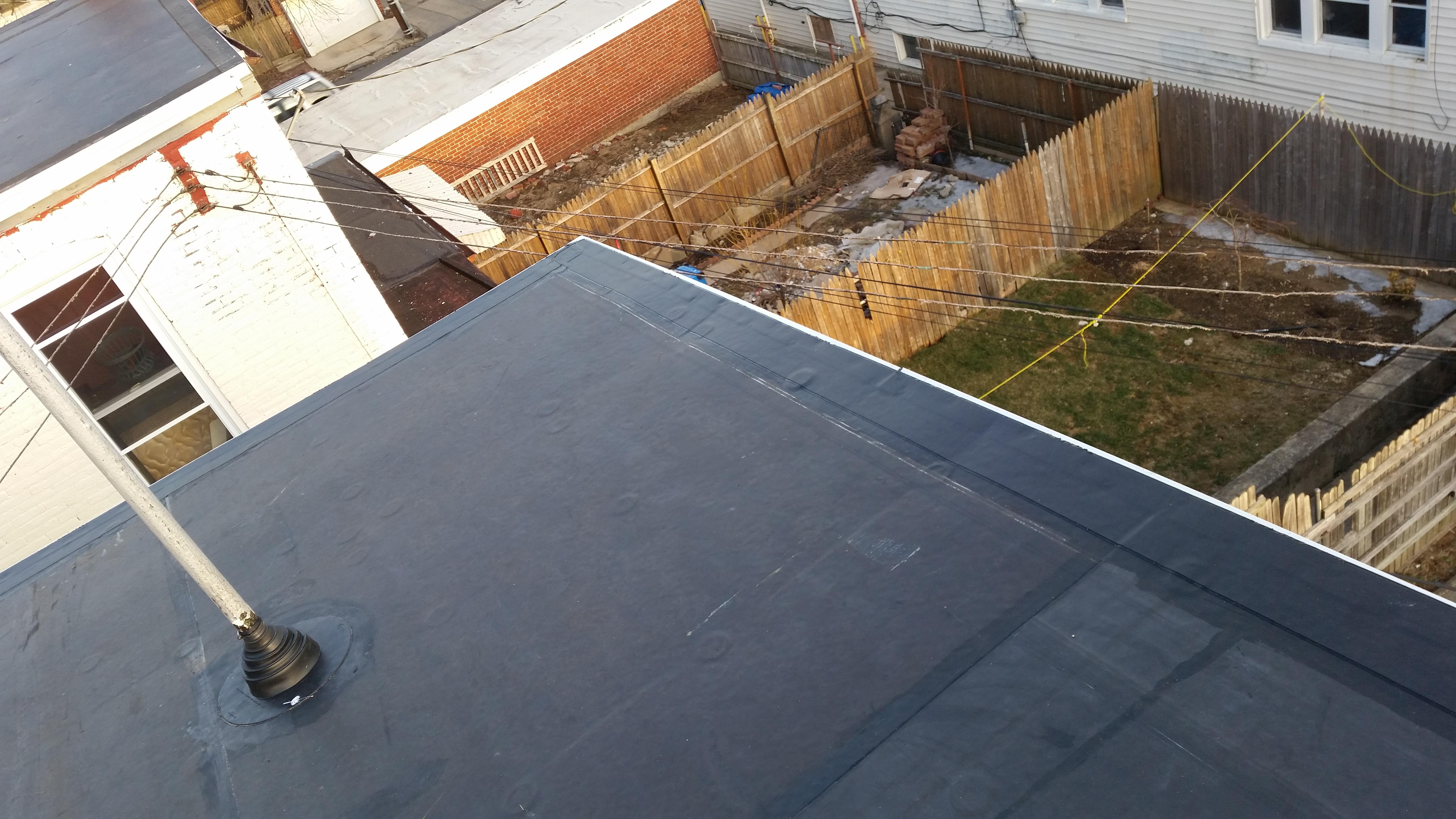 repair rubber roof