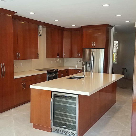Kitchen remodel in Pinecrest