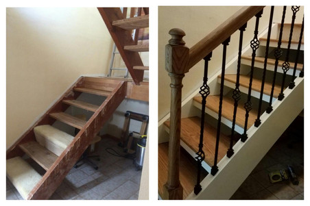 Staircase rennovation