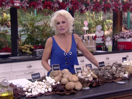 Ana Maria Braga fala sobre as variedades de cogumelos e receitas