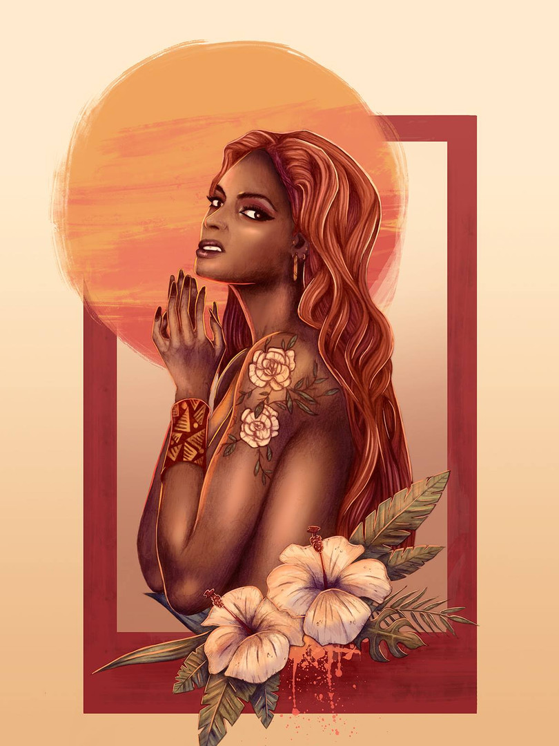 """""""Hestia, déesse du Feu"""" 2/2"""