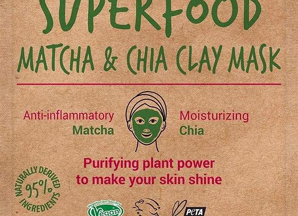 Superfood Matcha & Chia Clay Mask