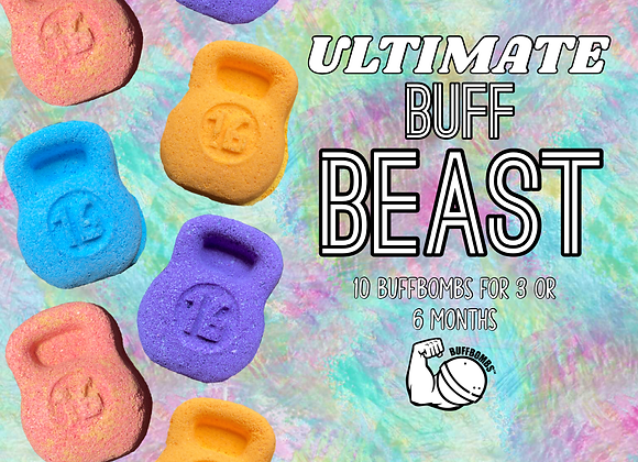 ULTIMATE BUFF-BEAST (10 Buffbombs) 3 OR 6 Month Subscription
