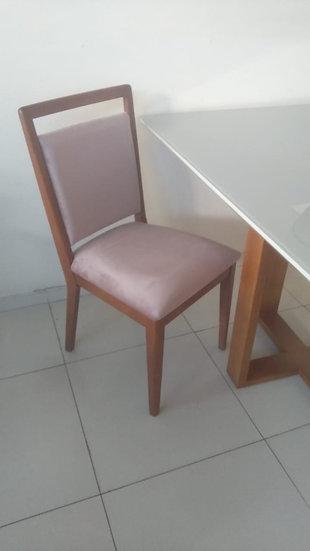 78-Cadeira sala de jantar - 10x R$ 55,00